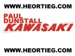 Paul Dunstall Kawasaki Tank Transfer Decal D20084H-7
